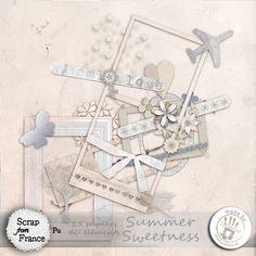 Summer Sweetness par 100Drine - €2.00 : Boutique ScrapFromFrance