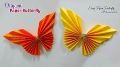 These paper butterflies are looking very beautiful. Paper Butterfly origami is very easy to make. Even kids can make these beautiful paper butterfly. Origami Rose, Origami Butterfly Easy, Paper Butterfly Crafts, How To Make Butterfly, Paper Butterflies, Diy Origami, Origami Paper, Paper Flowers, Beautiful Butterflies