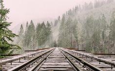Sparrow Longman - railroad picture free for desktop - 5230x3269 px