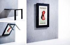 Multifunktionelle og pladsbesparende møbler til små lejligheder