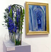 I love Art in Bloom at the Minneapolis Institute of Arts--the floral interpretations of the art are wonderful.