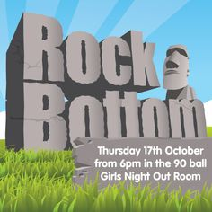 Join us tonight from in Girls Night Out Room for Rock Bottom Bingo. Featuring: Pots from to ~ and bingo linx games at and tickets just ~ Prizes for players left with and on the full house ~ Roll on games with additional full house winners Bingo Games, Rock Bottom, Full House, Casino Games, Girls Night Out, Pots, Girls Night In, Ladies Night, Pottery