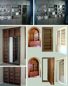 Secret rooms...
