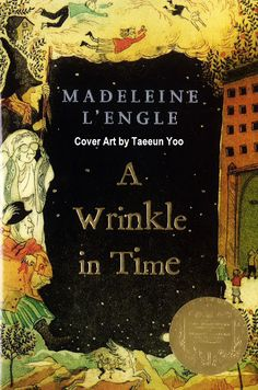 A WRINKLE IN TIME, 1962 © Madeleine L'ENGLE (Author. USA, 1918-2007). About the author: http://en.wikipedia.org/wiki/Madeleine_L'Engle ... Cover Art, 2007 © TAEEUN YOO (Artist. USA) Artist Site: http://www.taeeunyoo.com/  ... How often does a favorite story get matched with a favorite artist! Loved this book from childhood but think this is the best cover for it yet!  SF+F, Fantasy, Classic, Adventures, Tesserect, Time & Space, Good, Evil, KidLit, JF, YA, All Ages,