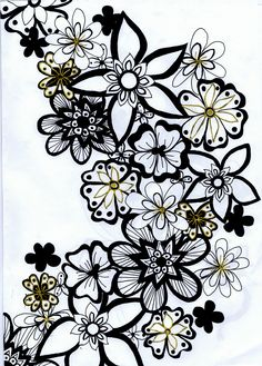 Viewing Gallery For - Flowers Black And White Drawing - ClipArt Best - ClipArt Best