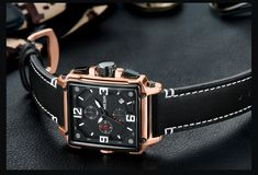 MEGIR 2061 Unique Style Chronograph Men Wrist Watch Men Watch, Sport Casual, Style Men, Watches Online, Quartz Watch, Apple Watch, Chronograph, Pocket Watch, Watches For Men