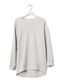 Slubbed French Terry Sweatshirt Product Image