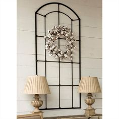 Metal Arched Window Frame