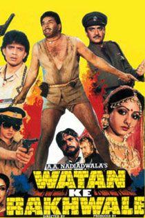 Watan Ke Rakhwale (1987) Hindi  Movie Online in SD - Einthusan  Sunil Dutt, Dharmendra, Mithun Chakraborty Directed by T. Rama Rao Music by Laxmikant-Pyarelal 1987 [A] ENGLISH SUBTITLE