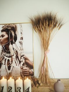 Black beard dried (wheat)