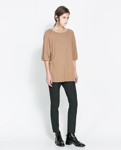 ZARA - NEW THIS WEEK - BOAT NECK SWEATER