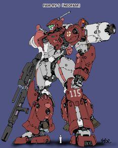Robot Concept Art, Robot Art, Character Concept, Character Design, Japanese Robot, Fighting Robots, Gundam Wallpapers, Gundam Art, Mecha Anime