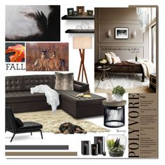 """""""Fall"""" by naomimjc ❤ liked on Polyvore featuring interior, interiors, interior design, thuis, home decor, interior decorating, Andrew Martin, Dot & Bo, Threshold en GG Collection"""