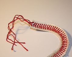 I've got a great idea to share with all of you for a super easy and cute way to make a bracelet out of the strings of a baseball. My colle...