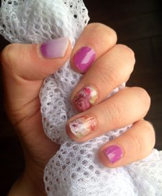 Jamberry Nails: Orchid, Flower Shop, and Orchid Ombre
