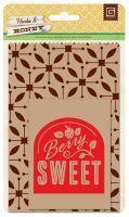 Herbs & Honey - Printed kraft bags by Basic Grey found at fotobella.com