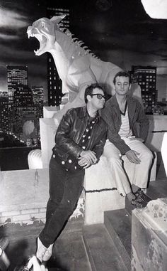 Ghostbusters candid shot