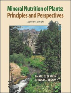 Mineral Nutrition of Plants: Principles and Perspectives PDF Free Online