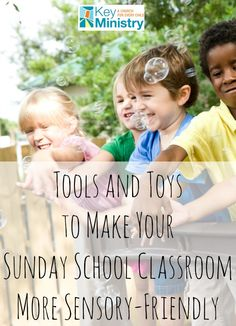 No matter how big or small your budget is, you can make your Sunday school classrooms more sensory friendly!