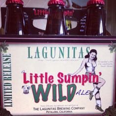 "For those WILD Seasons... ""Little Sumpin WILD Ale."" Lagunitas Brewing. Petaluma, CA (The 707)"
