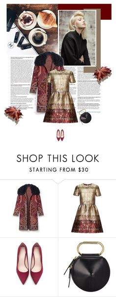 """""""Goldener Herbst"""" by lagomera ❤ liked on Polyvore featuring Tory Burch, Valentino, Zara, 3.1 Phillip Lim, women's clothing, women's fashion, women, female, woman and misses"""