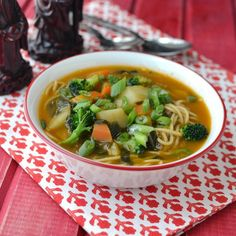 A hearty and comforting noodle soup from North east Indian state of Arunachal Pradesh.