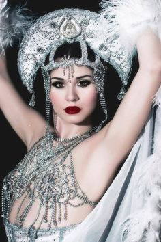 Image result for burlesque moon theme