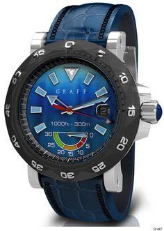 Graff ScubaGraff Diver's Watch.