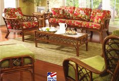 Classic Rattan Grand Isle Model 3700 Rattan and Wicker Furniture