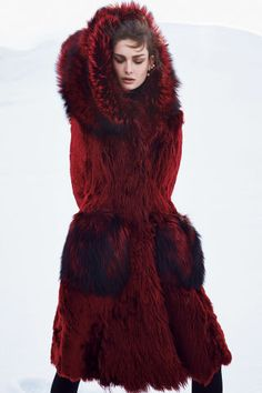 The 57 best winter fashion shoots featured in Harper's Bazaar over the years: