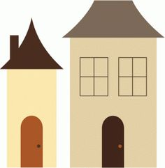 Silhouette Design Store - View Design #47919: houses