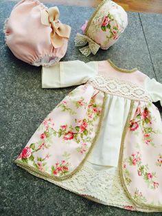 Traje renacentista bebé niña by tetieros