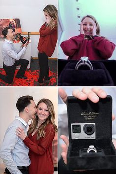 24 Creative Proposal Ideas The story of how you proposed will be always in your memory, because it is incredible happy moment. Here you find some unbelievably creative proposal ideas. Cute Wedding Ideas, Wedding Goals, Perfect Wedding, Wedding Events, Wedding Planning, Dream Wedding, Wedding Themes, Fall Wedding, Diy Wedding