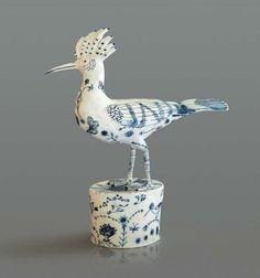 Georgina Warne, Hoopoe  Porcelain