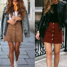 Cheap woman skirt pencil, Buy Quality skirt pencil directly from China leather skirt Suppliers: Sexy Women Ladies Clothing leather Skirts High Waist Khaki Short Bodycon Mini Fashion Women Skirt Pencil Leather Skater Skirts, Suede Mini Skirt, A Line Skirts, Short Skirts, Pencil Skirts, Pencil Dresses, Fall Outfits, Fashion Outfits, Womens Fashion