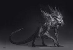 Guild Wars 2- Vinetooth and Faolain, Carlyn Lim on ArtStation at https://www.artstation.com/artwork/0O3xG
