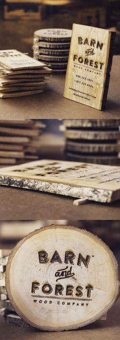 Barn & Forest business cards