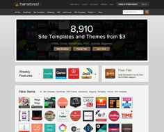 The Envato Marketplaces - Digital goods useful at all stages of app creation including themes, templates, photos, music, video and much more. Template Site, Psd Templates, Clean Design, Tool Kit, Mobile App, Ecommerce, How To Make Money, Design Inspiration, Graphic Design