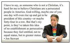 Jon Stewart- MY FAVORITE QUOTE