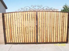 10 Best Privacy Gates Images Gates Driveway Entrance
