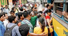 #Rally and #Metro Causes #PublicHarassment in #kolkata
