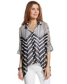Modern Stripe Becca Top