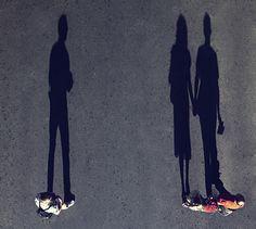 Couple Shadow by Faisal Almalki