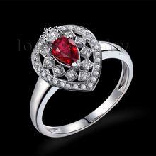 Amazing Diamond Jewelry Pear 4X6mm Romantic Ruby Ring Solid 18kt White Gold Loving Wholesale Christmas Fine Jewelry Gift WU291,   Engagement Rings,  US $636.00,   http://diamond.fashiongarments.biz/products/amazing-diamond-jewelry-pear-4x6mm-romantic-ruby-ring-solid-18kt-white-gold-loving-wholesale-christmas-fine-jewelry-gift-wu291/,  US $636.00, US $604.20  #Engagementring  http://diamond.fashiongarments.biz/  #weddingband #weddingjewelry #weddingring #diamondengagementring…