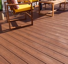 If you're looking to add a genuine walnut decking feel to your outside living space but with none of the maintenance requirements, our EasyClean Tropical Walnut Capped Composite Decking is exactly what you need 🙌 Single Tree, Outdoor Spaces, Outdoor Decor, Composite Decking, Outside Living, Recycled Wood, Garden Design, Composition, Living Spaces