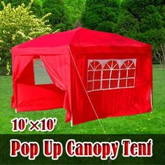 A red tent? Your family & friends will sure not miss your tent in the crowd! :)
