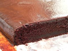 The chocolate slab cake, which I posted about nearly a year ago, has been the most widely made recipe on our blog. I think that's because it's easy to make and results in a large quantity of chocol...