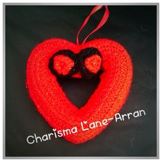 Hanging Heart Wreaths by CharismaLane on Etsy