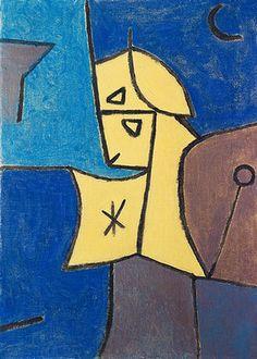 1940 Paul Klee 'Hoher Wächter' (ange la grande sentinelle)