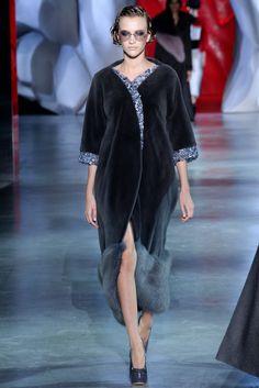 Ulyana Sergeenko Fall 2014 Couture Fashion Show - Paulina King (Women)